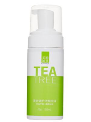 茶树调护洁颜泡沫