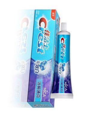 佳洁士3D炫白冰极薄荷牙膏