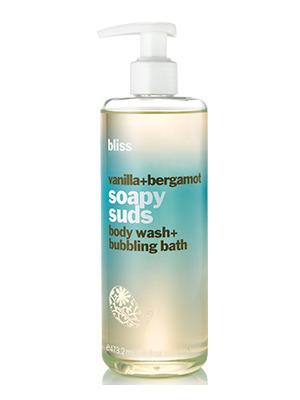 泡沫肥皂香草佛手柑香
