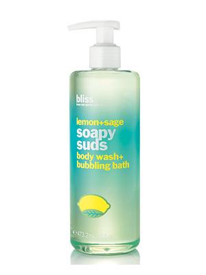 泡沫肥皂鼠尾草柠檬香