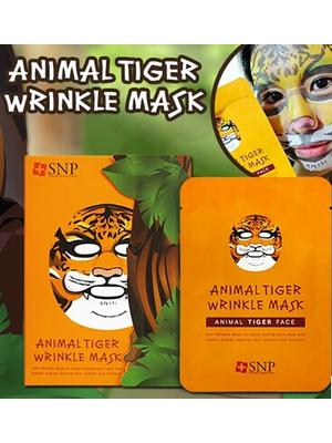 网络热卖SNP动物园面膜老虎版