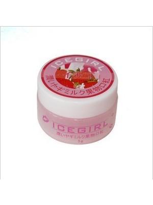 草莓味嫩唇膏