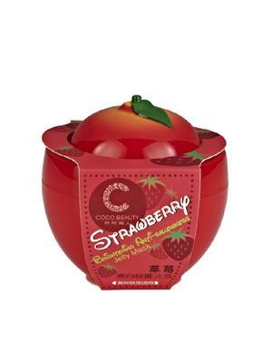 草莓亮白祛黄冻膜