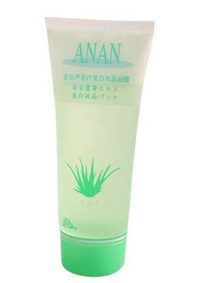 安安芦荟汁美白水晶面膜