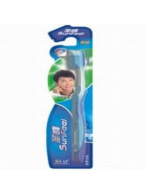 舒适亮白牙刷(软胶护龈型)