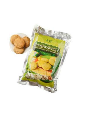 山药薏米芡实粉饼干