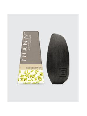 纯米系列磨砂木炭米粒芳香皂