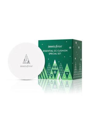 2015年绿色圣诞节莹润调色气垫隔离霜礼盒