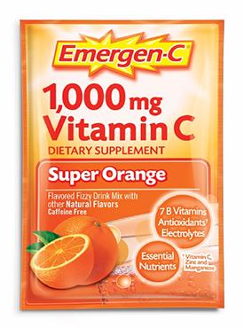 超级橘子味泡腾粉