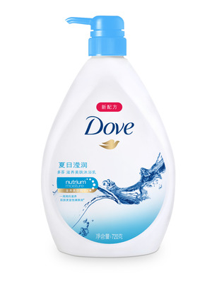 夏日滢润滋养美肤沐浴乳