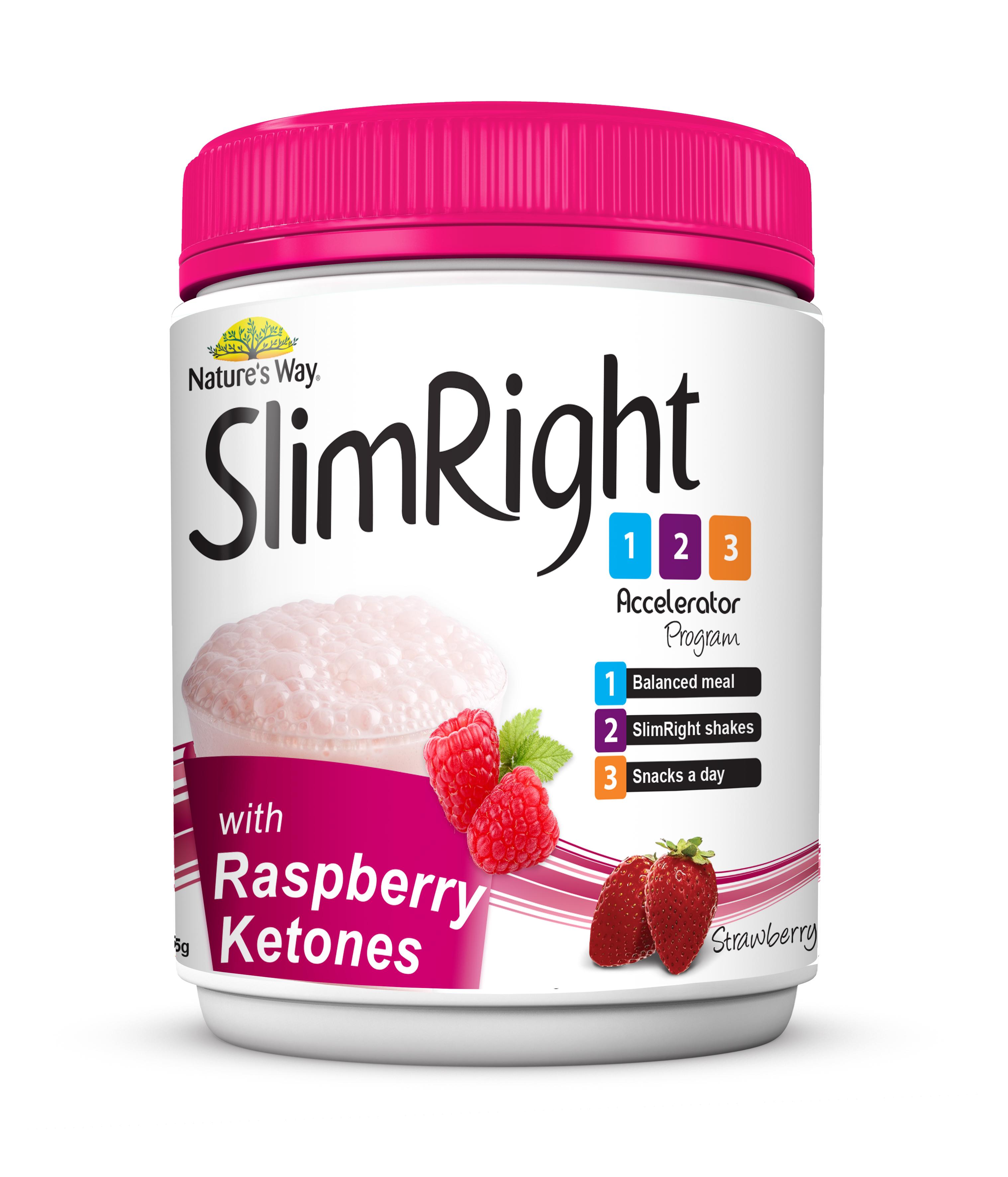 SlimRight纤妍丽代餐奶昔 (草莓味)