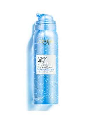 巴黎欧莱雅清润净白海水仙泡泡精华乳液