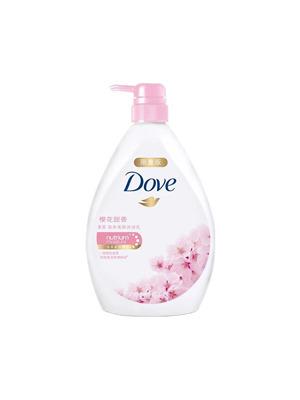 多芬樱花甜香沐浴乳