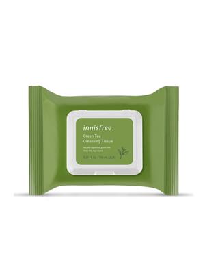绿茶精萃清颜卸妆巾