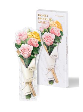 花语蜜意蜂胶玫瑰保湿水润面膜