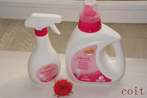 贝贝熊洗衣液:让宝宝的衣服更温和