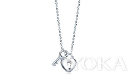 LOVING HEARTS 「心影」950铂金项链