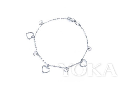 LOVING HEARTS 「心影」950铂金手链