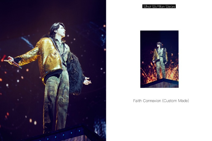 吹爆吴亦凡首场个人演唱会的同时,粉丝也为他的时尚经拜倒!